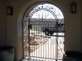 Electrostatic Painting Exterior Gate
