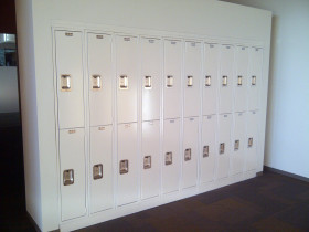 Electrostatic Painting Metal Lockers